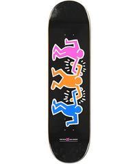 Keith Haring Skateboard Deck (Black)
