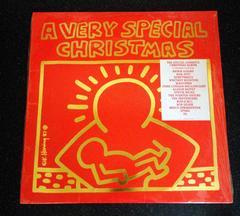 Vintage Original Keith Haring Vinyl Record Art