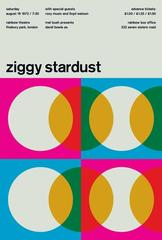 David Bowie, Ziggy Stardust, A Limited Edition Design Print