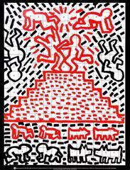Pyramid, Child, Dog (Print)