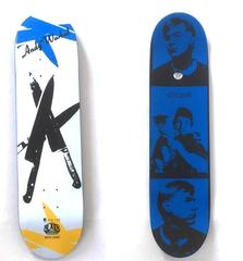 Limited Edition Andy Warhol Knives Skate Deck