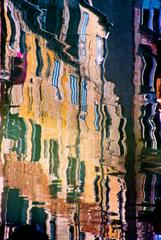 Canal Reflections photograph, Venice, Italy