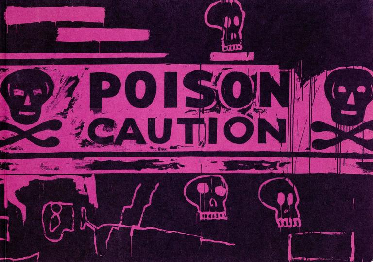 poison caution collaborations andy warhol jean michel basquiat