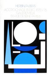 Exhibition poster: Herbin / Albers Galerie Melki