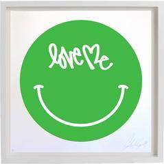 Love Me Screen Print (Green)