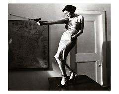 Girl With A Gun Patti Astor East Village, 1977 (Amos Poe The Foreigner)