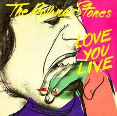 Warhol Album Cover Art, The Rolling Stones
