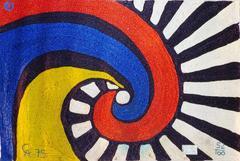 Swirl Tapestry (After Alexander Calder)