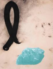 Curtis Kulig Scottish Stone mixed media work