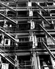 SoHo Fire Escapes, New York, 1984