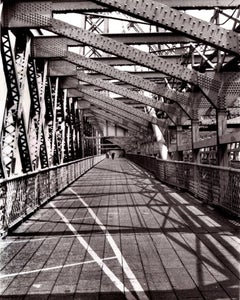 Williamsburg Bridge Photograph Brooklyn 1973