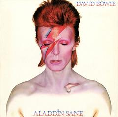 David Bowie, Aladdin Sane, Vinyl 1st Pressing, 1973