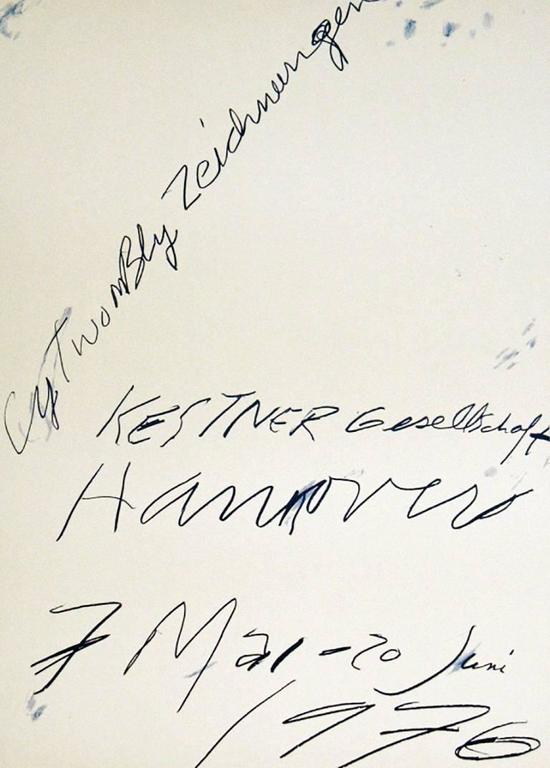 cy twombly - vintage original cy twombly exhibit poster, print at ...