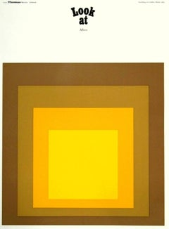 Josef Albers Homage to the Square lithograph (Albers prints)