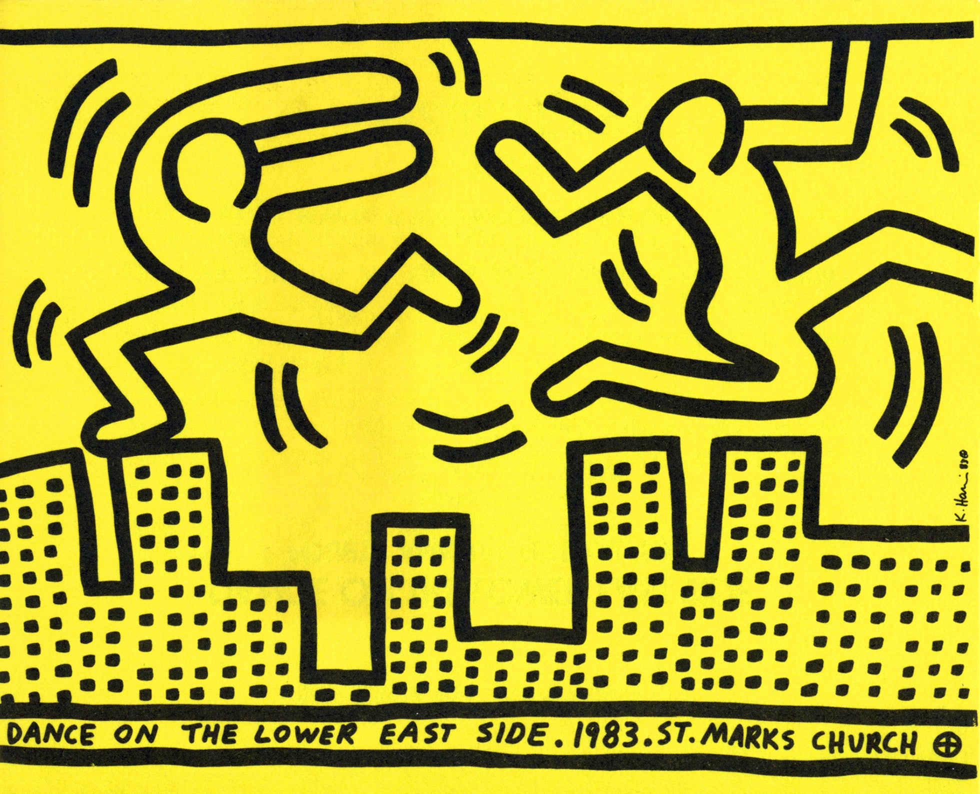 Keith Haring - Dance on the Lower East Side, St. Marks Church at 1stdibs