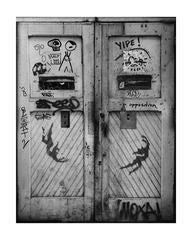 Rare Jean-Michel Basquiat, Keith Haring Street Art Photo