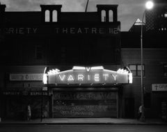 Variety Theater photograph New York City, 1985 (East Village)