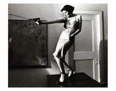 Girl With A Gun, Patti Astor, East Village, 1977 (The Foreigner)