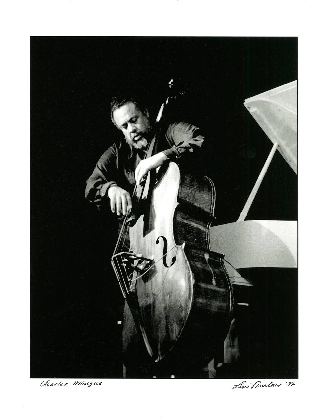 Charles Mingus, Detroit 1974 (jazz photography)