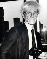 ANDY WARHOL, New York, 1978