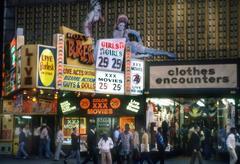 Roxy Burlesk, Times Square, New York, 1978
