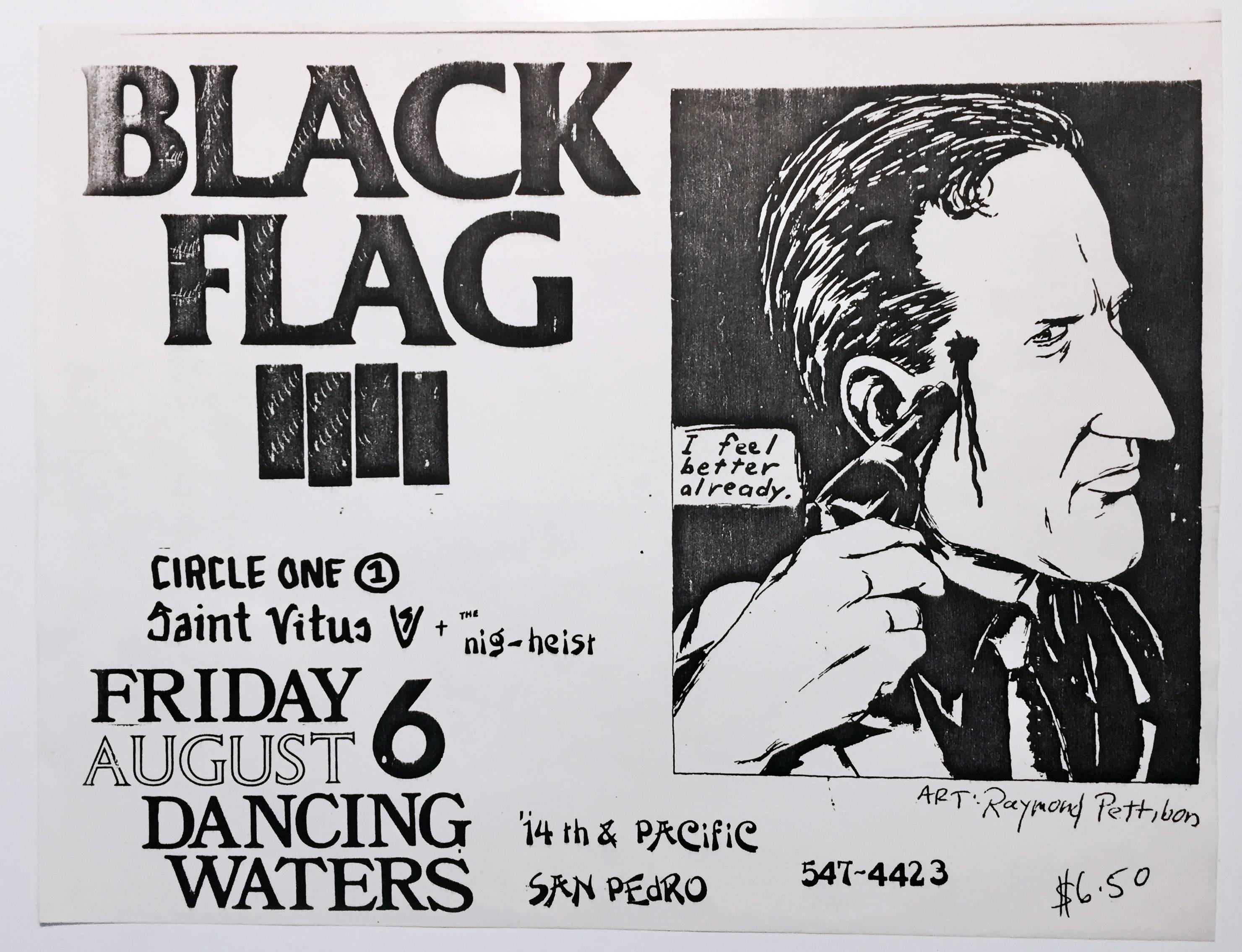 Raymond Pettibon, Illustrated Punk Flyer