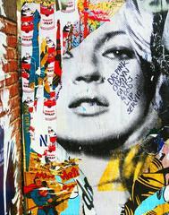 Kate Moss Street Art Photo, New York