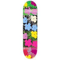 Warhol Flowers Skateboard Deck (New)