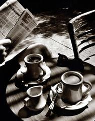 Sunday Morning Coffee Photograph New York, NY 1996