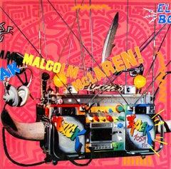 Vintage Original Keith Haring Album Art