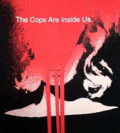 The Cops Are Inside Us, Mike Mills signed screen print