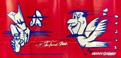 Kenny Scharf and Futura 2000, Tony Shafrazi Gallery