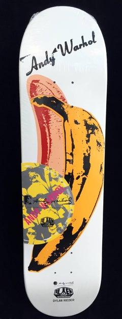 Andy Warhol Banana Skateboard Deck (Velvet Underground)