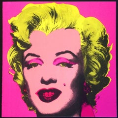 Andy Warhol at Leo Castelli Gallery, New York,