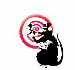 Banksy Radar rat Vinyl Record Art