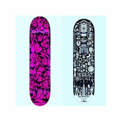 Ryan McGinness, A Set of Two Illustrated Skateboard Decks