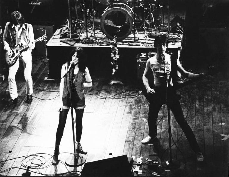 Fernando Natalici Black and White Photograph - Patti Smith photograph New York 1977 (Patti Smith the Palladium)
