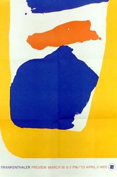Helen Frankenthaler Abstraction Lithograph
