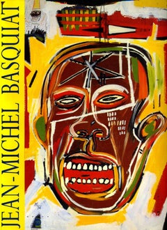 Basquiat, Museum Cantini Catalog, Marseille, France