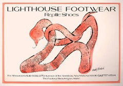 "Andy Warhol ""Reptile Shoes"" Lithograph"