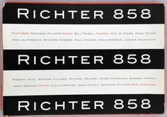 Gerhard Richter 858 (artist monograph + 8 offset lithographs)