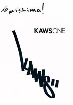 Signed KAWS ONE monograph (KAWS Tokyo 2001)