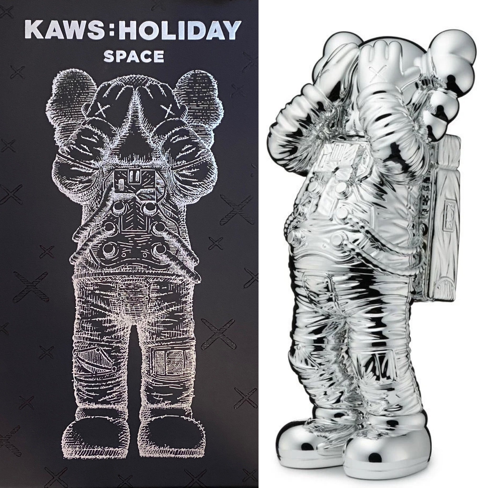 KAWS Holiday SPACE Companion (KAWS silver holiday space)
