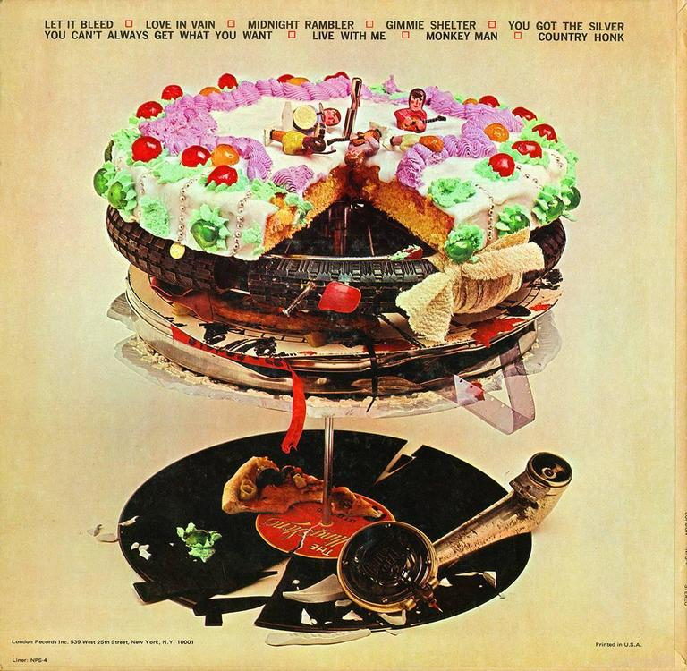 Unknown Original Rolling Stones Let It Bleed Vinyl