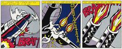 Roy Lichtenstein - As I Opened Fire, A Set of Three Posters