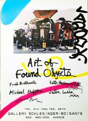 Signed Keith Haring Exhibit Poster