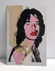 Mick Jagger, Leo Castelli Set of 10 Exhibit Cards