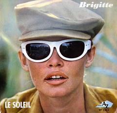Vintage Brigitte Bardot Vinyl Record