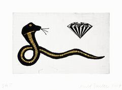 Donald Baechler Diamond Snake