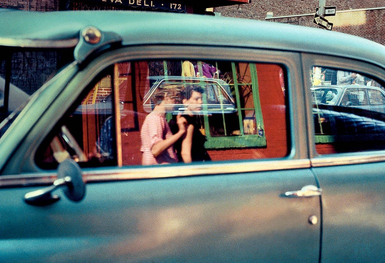 Robert Herman Color Photograph - Prince Street Photograph Soho, New York, 1981 (The New Yorkers)